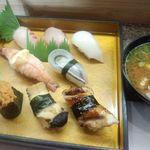 寿司一作 - 上にぎり 2013.05.16