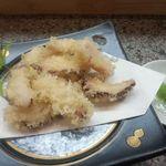 寿司一作 - タコの天ぷら