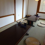 松製麺所 - 店内風景・座敷方面