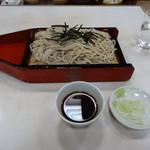 甚兵衛そば - 甚兵衛蕎麦(470円)