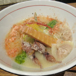 麺と心 7 - 《4月の魚介白湯 第一弾》       鯛白湯~春の彩り~
