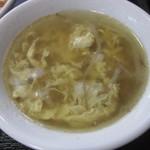大龍飯店 - スープ