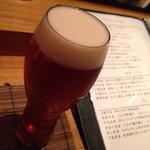 夕 - ドリンク写真:美味しいビール!