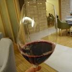 La Cuisine Japonaise 玻璃 - 赤ワインがお料理を引き立てる〜