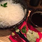 元祖中洲そうめん 臣屋  - 三輪素麺 白龍 ¥1250