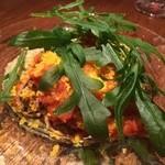 ミネバル - 小イカのトマト煮、アボカド冷製
