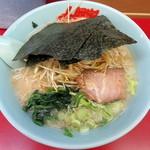 ラーメン山岡家 - 塩ラーメン_620円、メルマガクーポンでネギ増しサービス
