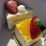 スールポッシュ - 購入したケーキ