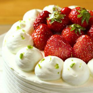 パティシエの作る本格ケーキ!