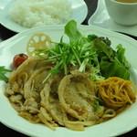 ドウジマカフェ - 週替わりランチ!900円!ドリンク付