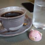 やわらかとんかつ 彩 - コーヒーも付いてます