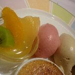 ラ・クープ - フルーツ&アイス