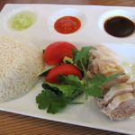 36950954 - 海南鶏飯ランチセット 1100円