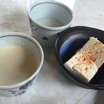 36951969 - 食べ放題の豆乳、湯豆腐、ミキ