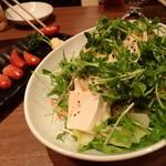 36953794 - 豆腐サラダとソーセージ