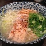 鶏そば 一瑳 - 料理写真:あっさり鶏そば