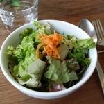 グラン プリエ - セットの生野菜サラダ
