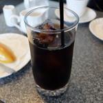 塔 - アイスコーヒー(ケーキセット)