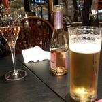 プティ サレ - [3500円コース] まずはビールなど