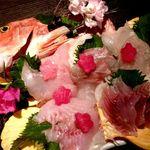 sengyoyakitorisa-kasu - 珍魚刺し盛り