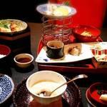 善平 - 週替わり 茶碗蒸し食べかけ…