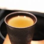 博多水炊きと炭火焼き鳥 美神鶏 - ●ほうじ茶プリン