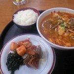 3696944 - カルビスープ定食¥800