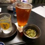 36960158 - クラフトビールは冷やしすぎず、泡も少なくするのが美味しいそう。