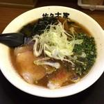 Sasakiya - 濃厚煮干しとんこつらーめん    ¥750