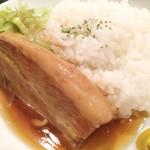 琉球・梅酒ダイニング てぃーだ - ミニラフテー丼