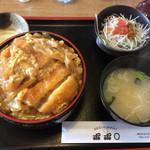 36974916 - カツ丼セット 750円(週替わり)