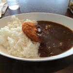 菊屋食堂 - カレー(中) コロッケトッピング
