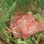 ファットマム - 横須賀野菜フェンネルと生ハムのサラダ