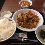 陳麻家×日本橋焼餃子 - 日替りランチ500円