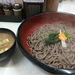 鴨錦 - つけ鴨蕎麦大盛り(3玉)