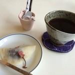 やまねこ軒 - 週替わりランチ 食後のコーヒー(H)&デザート