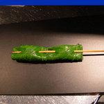 くら羅 - 白身魚のしそ巻き
