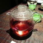 赤坂潭亭 - ハイビスカス茶