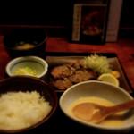 鳥元 - 牛タン塩炭火焼定食