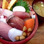 相浜亭 - 海鮮丼!