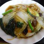 太光苑 - 「2品定食」長崎皿うどん