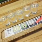 36993200 - 地酒利酒セット(2)