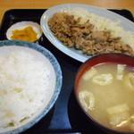 みのり亭 - 料理写真:生姜焼定食