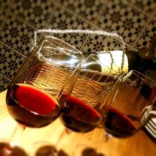 ワイン飲み比べ、ブラインドテイスティングセットも!
