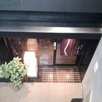 茅場町 長寿庵 - (2015年4月)ランチ:店は地下1階