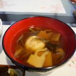 江川 - 料理写真:お汁