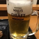 吉野家 - 生ビール(通常)350円