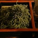 土蔵食亭 - ヨモギ蕎麦