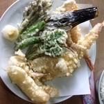 天杉 - 料理写真:天麩羅定食の天麩羅