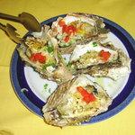 ラガッツォ - 岩牡蠣のオーブン焼き